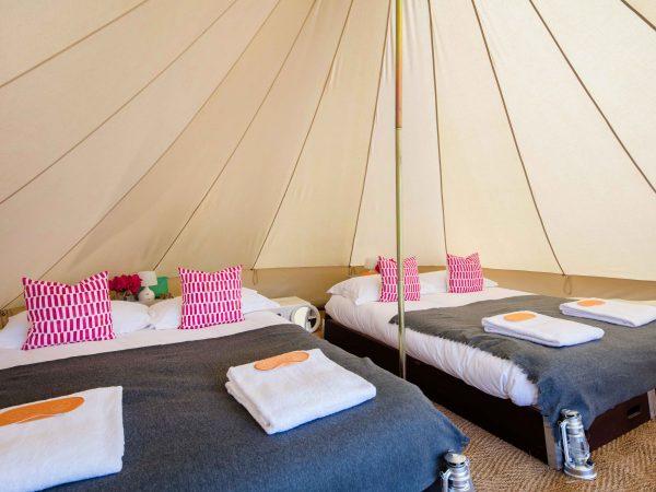 Portobello Tents festival accommodation