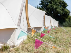 Portobello Tents festival accommodation