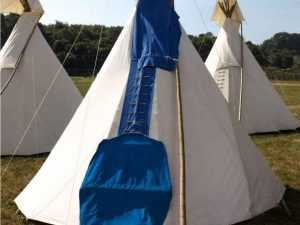 Hearthworks small tipi festival accommodation