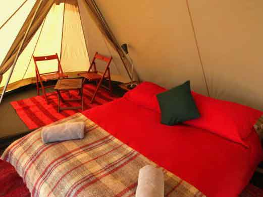 Cloudhouses festival accommodation
