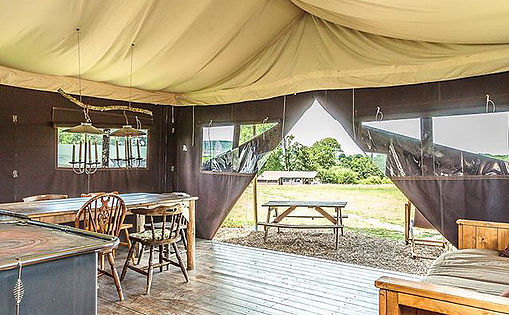 Cowdray Gold Cup Polo Glamping and Camping Accommodation Bedferret
