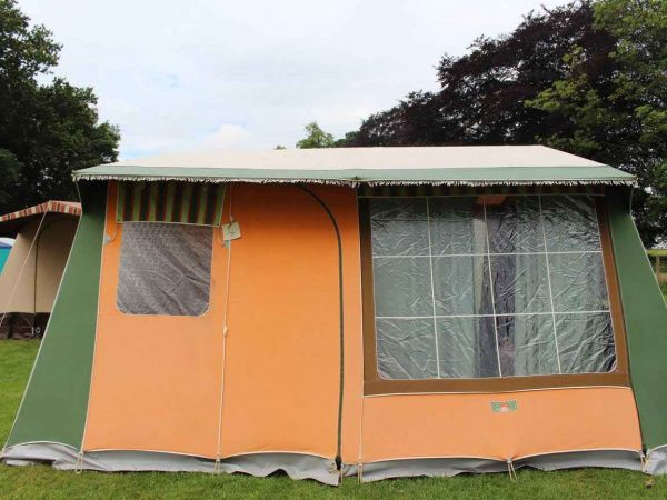 Camping accommodation for the Great Dorset Steam Fair