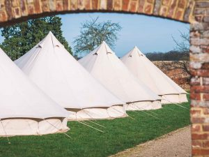 Burghley Horse Trials Accommodation Glamping Camping