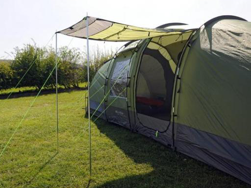 Z-I-P pre-pitched tents