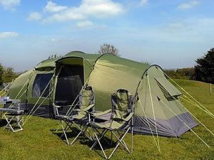 great dorset steam fair pre-pitched accommodation for six 4