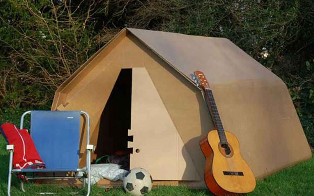 Glastonbury Festival accommodation camping Kartent