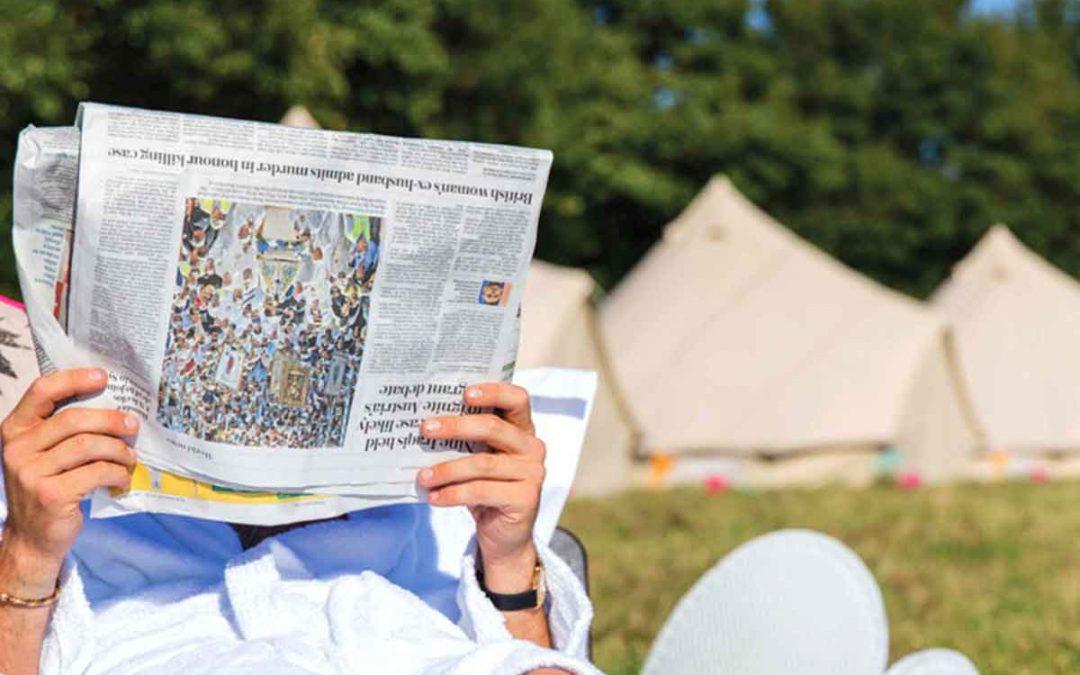 Glastonbury Festival Luxury VIP Glamping Accommodation