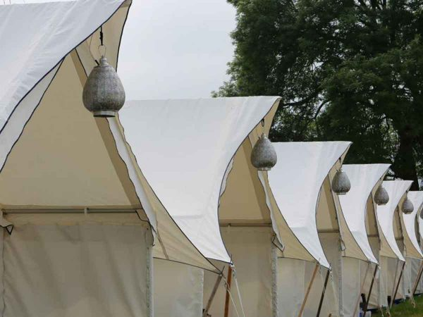 Luxury Safari tents for Glastonbury Music festival
