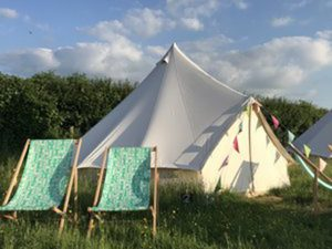 Glamping and Camping for the Hay Festival