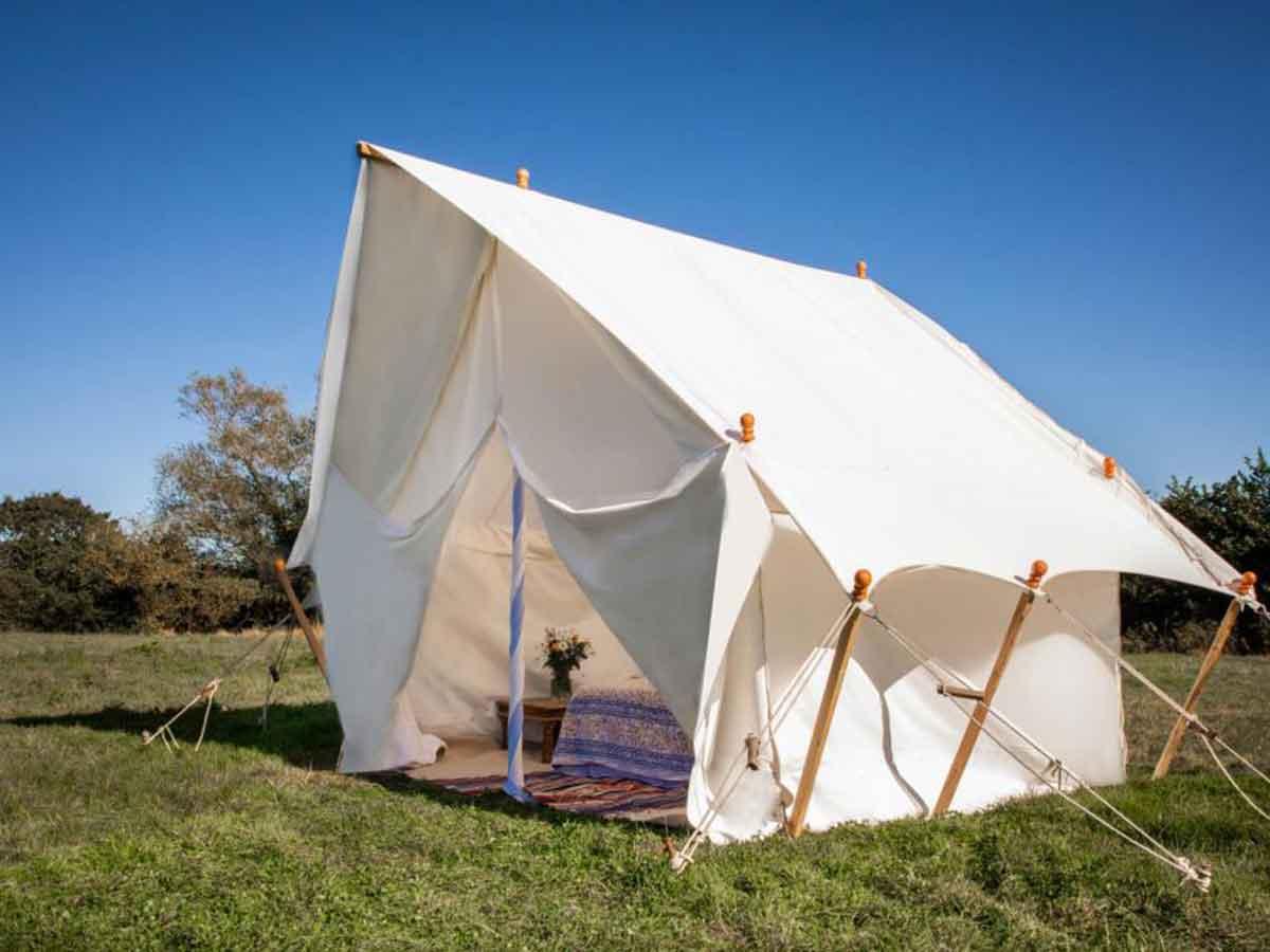 Mini Safari Tent Luxury Camping for Glastonbury Festival for 2