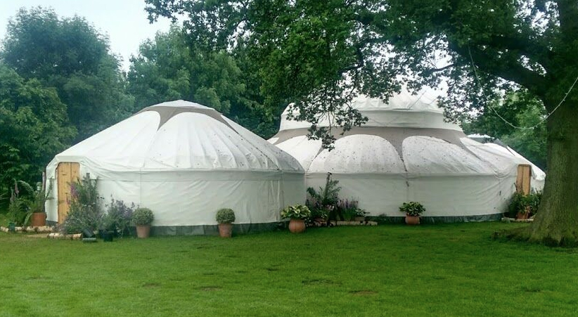 yurts for festivals and events group