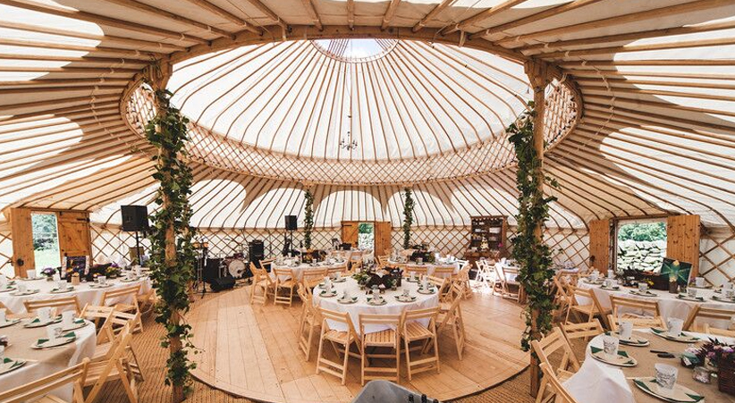 yurts for festivals and events wedding