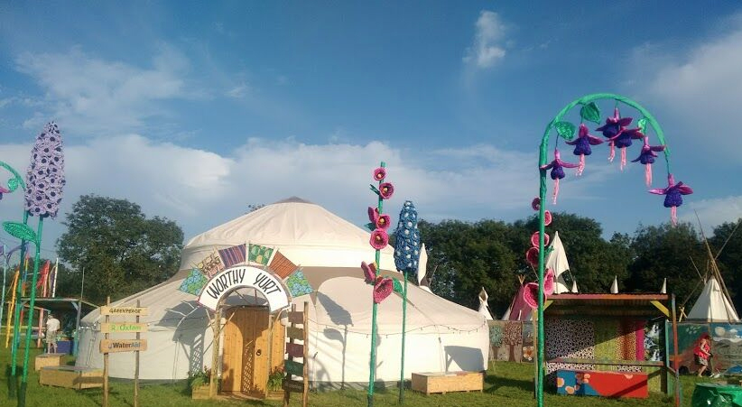yurts for festivals and events external
