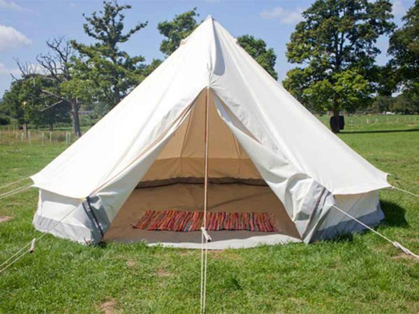Self pitch camping accommodation for glastonbury music festival