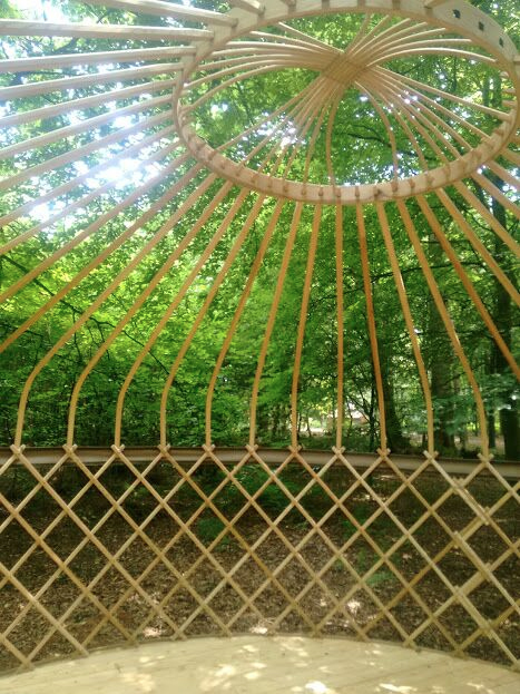 yurts for festivals and events construction