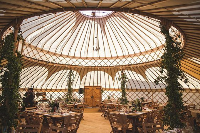 yurts for festivals and events