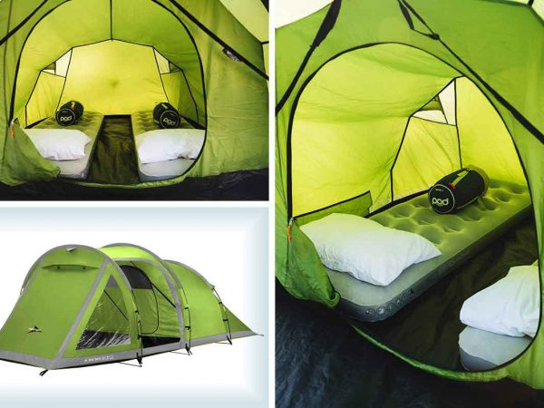 Campeazy camping at Hamilton Fields for the Formula 1 Grand Prix at Silverstone 2 person deluxe