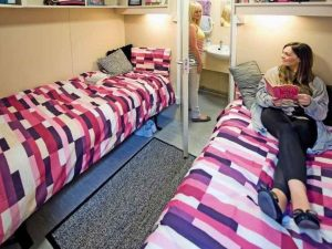 Suitecabin accommodation for Silverstone F1 inside